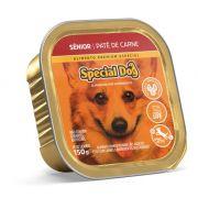 Ração Úmida Special Dog Patê Carne Cães Senior 150Gr
