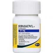 Anti-inflamatório Zoetis Rimadyl de 14 Comprimidos - 25 mg