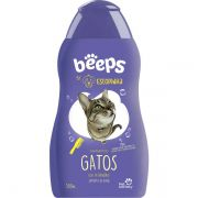 Shampoo Pet Society Beeps Estopinha Gatos Extrato de Aveia - 500ML
