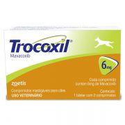 Anti-inflamatório Zoetis Trocoxil de 2 Comprimidos - 6 mg