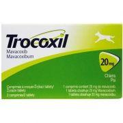 Anti-inflamatório Zoetis Trocoxil de 2 Comprimidos - 20 mg