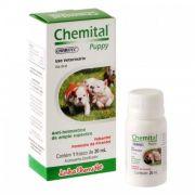 Vermifugo Chemital Puppy para Cães 20ml Chemitec