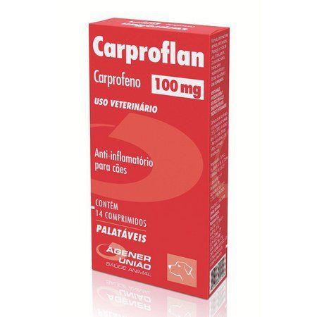 Anti-inflamatório Agener União Carproflan 100mg 14 Comprimidos