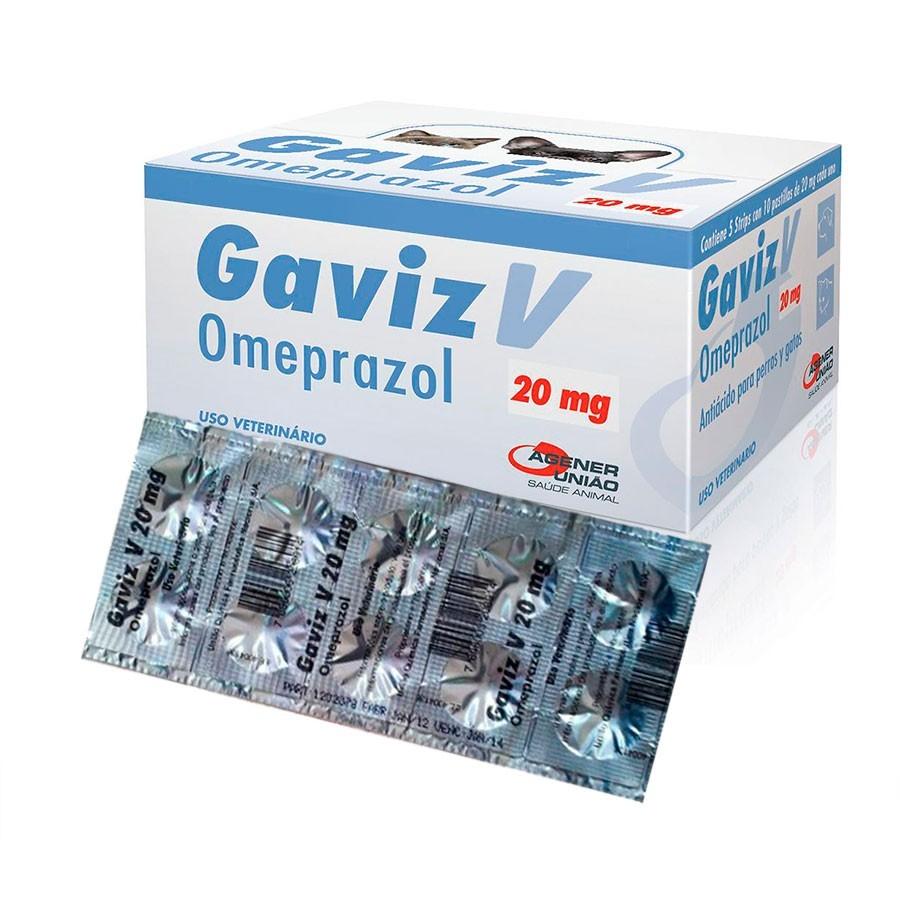 Antiácido Agener União Gaviz V Omeprazol 20 mg 10 Comprimidos