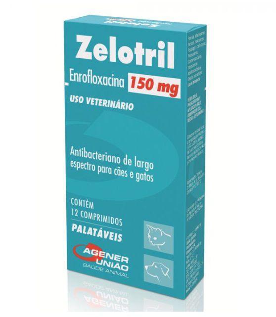 Antibacteriano Agener União Zelotril 150mg 12 comprimidos