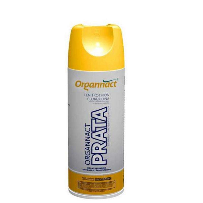 Antibacteriano Organnact Prata Spray 200ml