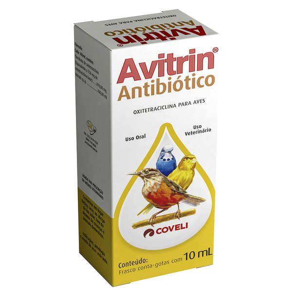 Antibiótico Avitrin Coveli - 10 mL