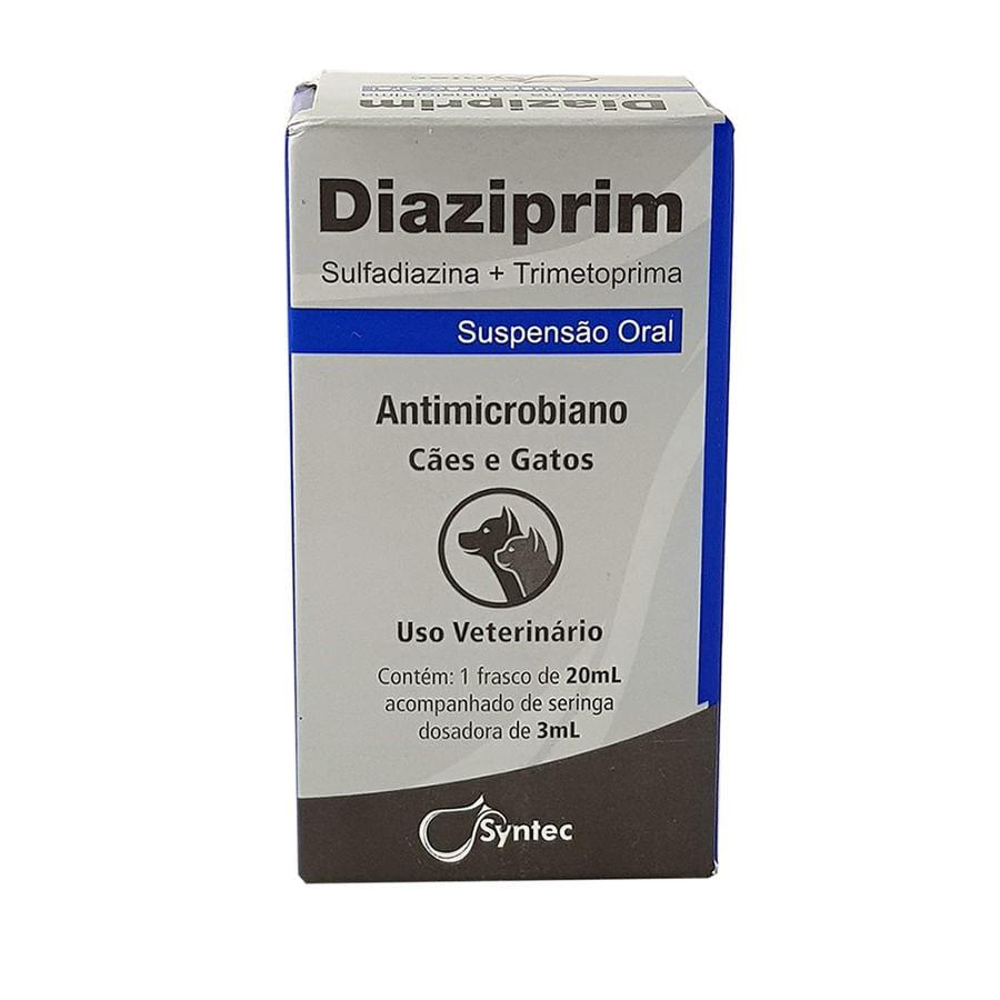 Antibiótico Syntec Diaziprim Oral Cães e Gatos 20ml