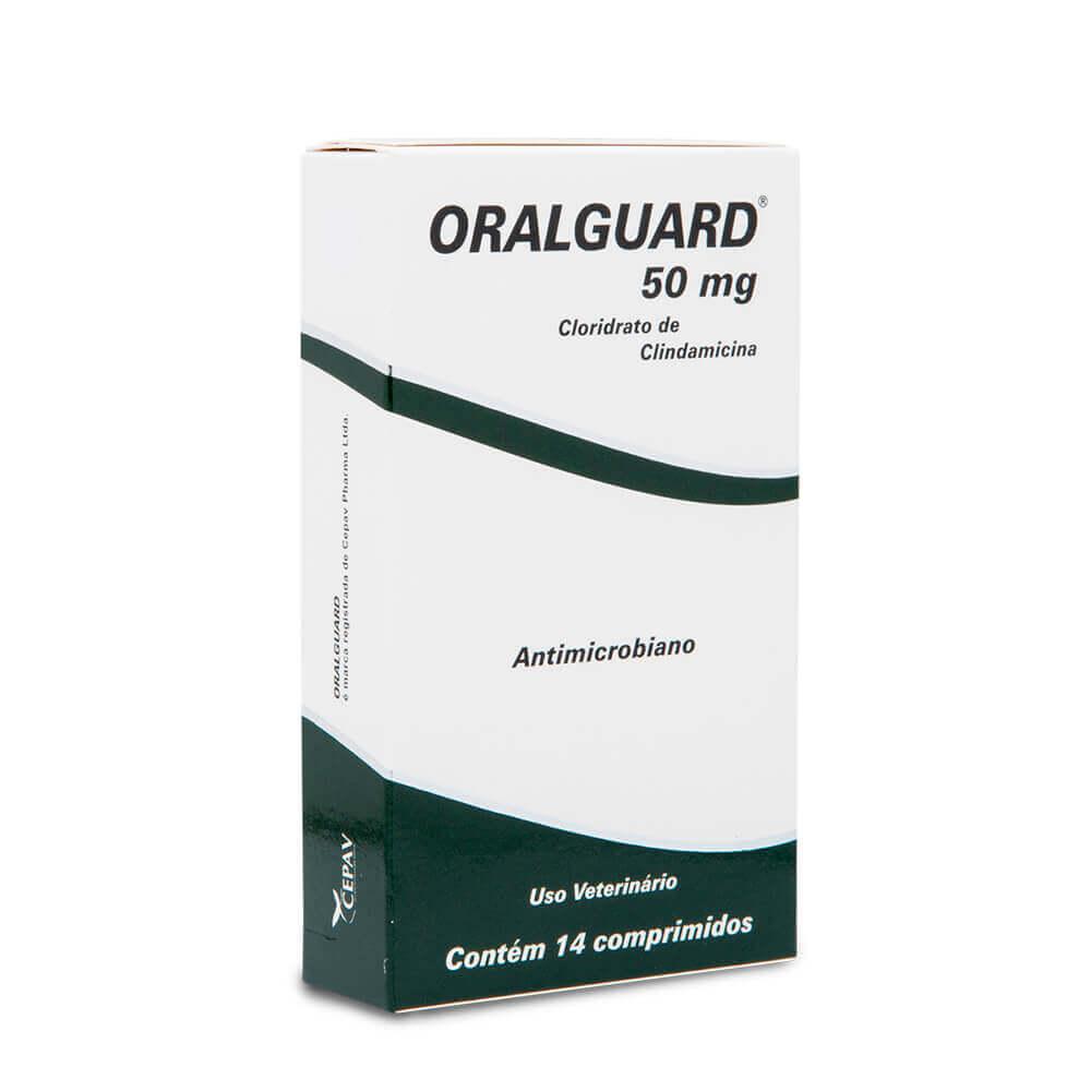 Antimicrobiano Cepav Oralguard 50mg 14 Comprimidos