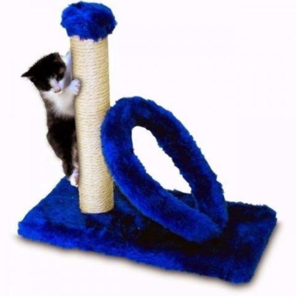Arranhador Cat Arco Retangular Azul 40x20cm