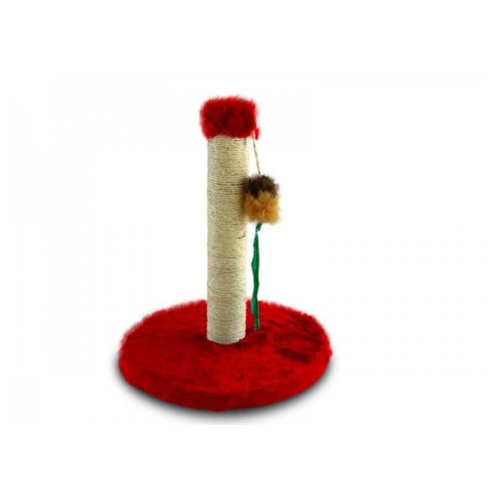 Arranhador Gato Mini Poste Vermelho  30cm x 26mm