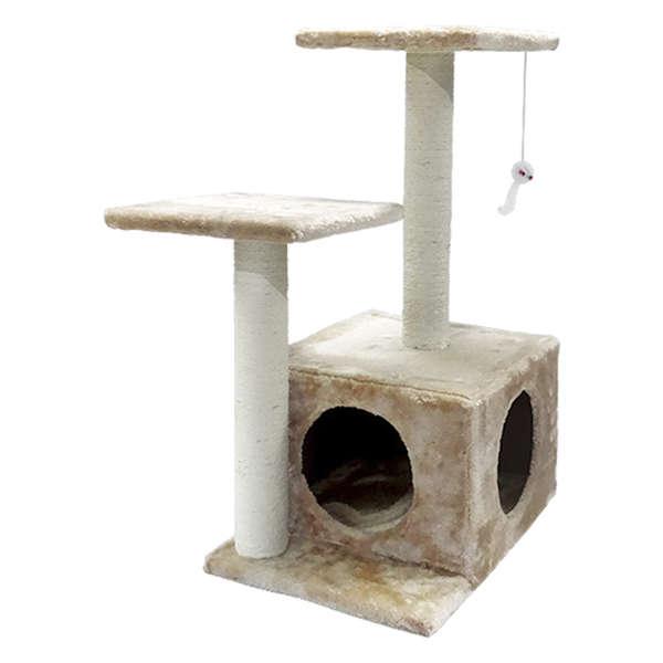 Arranhador Para Gatos 2 Bases Suspensas e Caixa The Pets Brasil