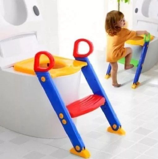 Assento Redutor Para Vaso Sanitário Infantil Com Escada Troninho Com Escadinha Para Criança