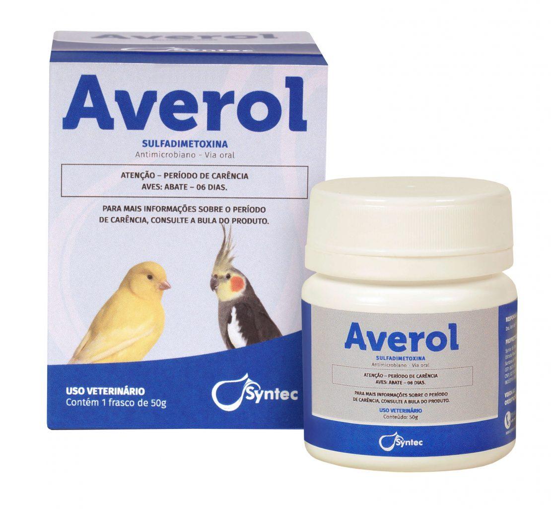 Averol Antimicrobiano para aves 50g Syntec