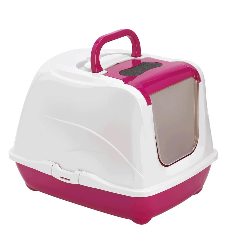 Banheiro Para Gatos Flip Jumbo A41xL43,9xC57,6 Pink