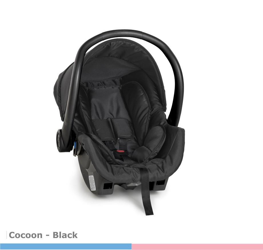 Bebê Conforto Cocoon Dzieco Preto 8181dpt - Galzerano