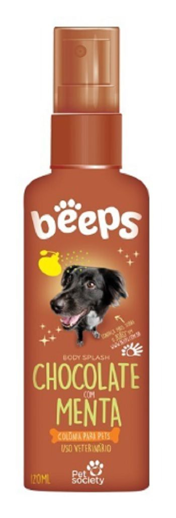 BEEPS BODY SPLASH CHOCOLATE COM MENTA 120ML
