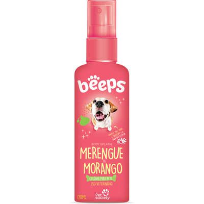 Beeps Body Splash Pet Society Merengue de Morango 120ml