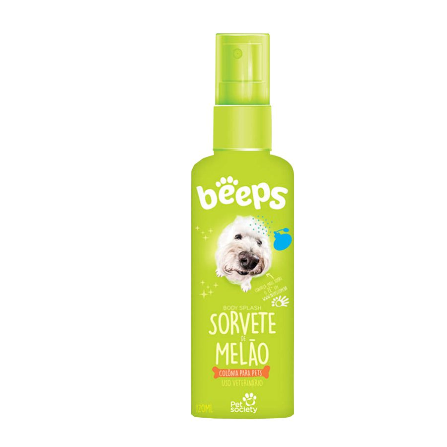 Beeps Body Splash Pet Society Sorvete de Melão 120ml