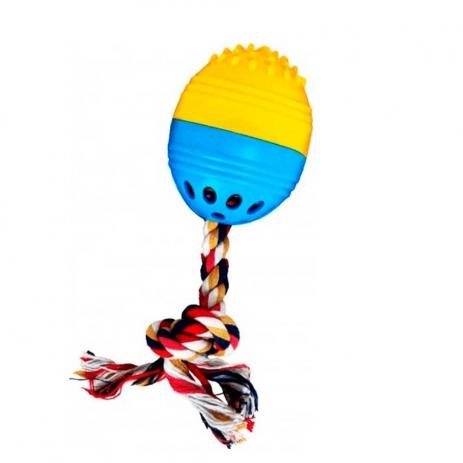 Brinquedo The Dogs Toy Bola Massageadora Sonora 18cm Para Cães