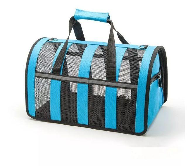 Bolsa Transporte Tela Neon Pet C48x L29x A26cm - Azul