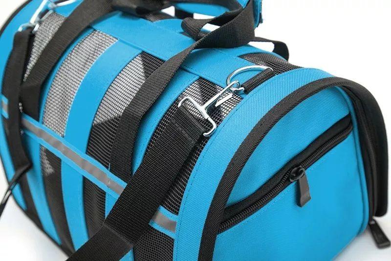 Bolsa Transporte Tela Neon Pet C48x L29x A26cm - Rosa