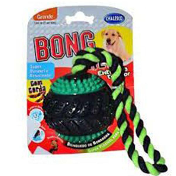 Brinquedo Chalesco Bola com Corda para Cães