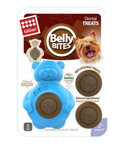 Brinquedo Borracha com Snack Urso