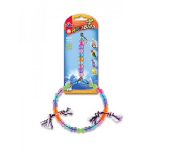 Brinquedo Calopsita Balanco Argola Grande 28cm Pet Injet