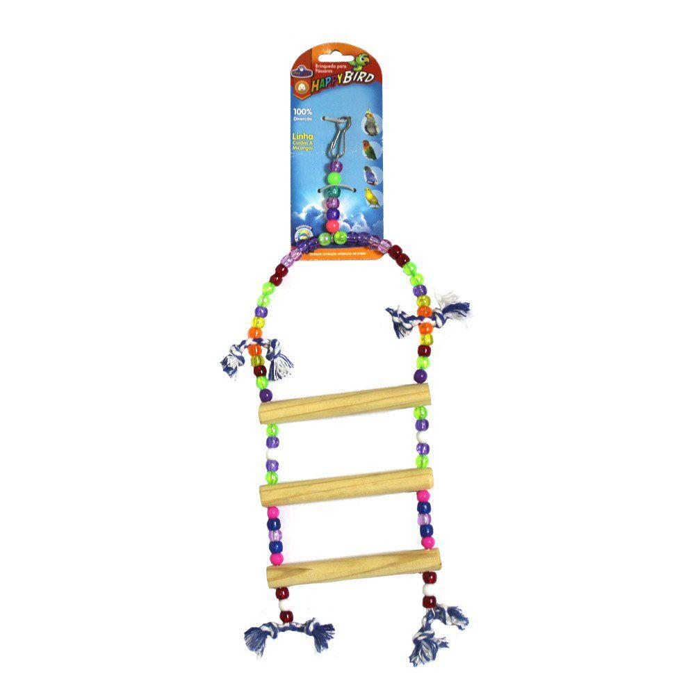 Brinquedo Calopsita Escada Redonda 3D 40cm