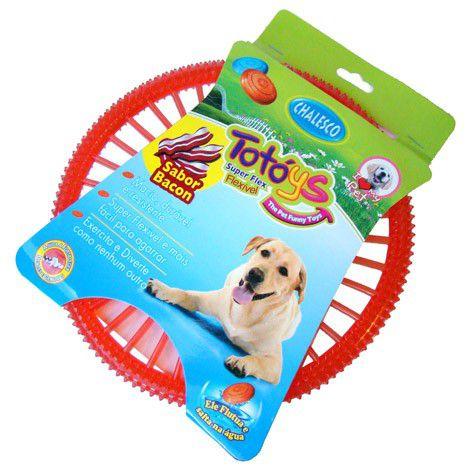 Brinquedo Chalesco Totoys Super Flex Sabor Bacon