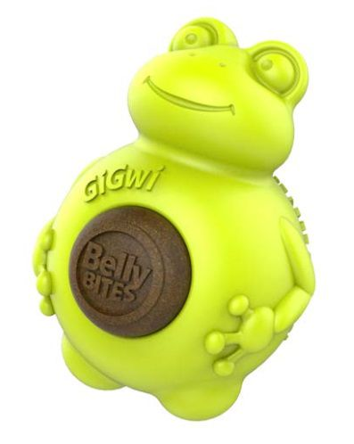 Brinquedo em Borracha Belly Bites com Snack