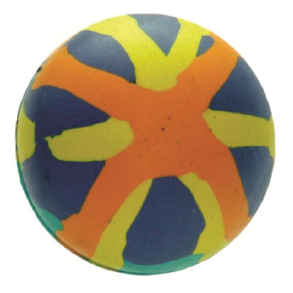 Brinquedo Go Natural Bola Macica Colorida de Borracha 55mm