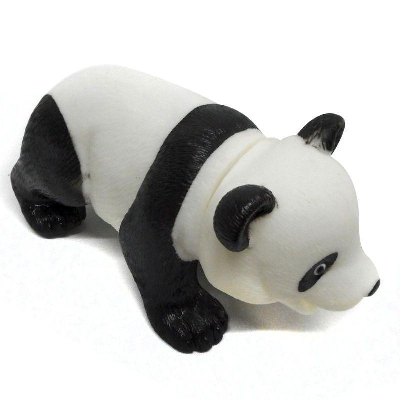 Brinquedo Home Pet em Vinil Urso Panda com som 23cm