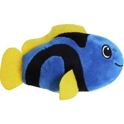 Brinquedo Homepet Pelucia Peixe Azul 15cm