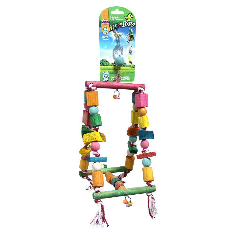 Brinquedo Papagaio Balanco Gangorra 32cm