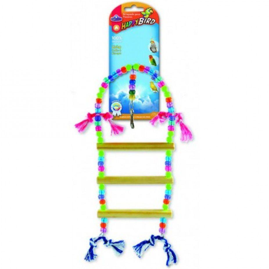 Brinquedo para Calopsita Balanço Escada 3D