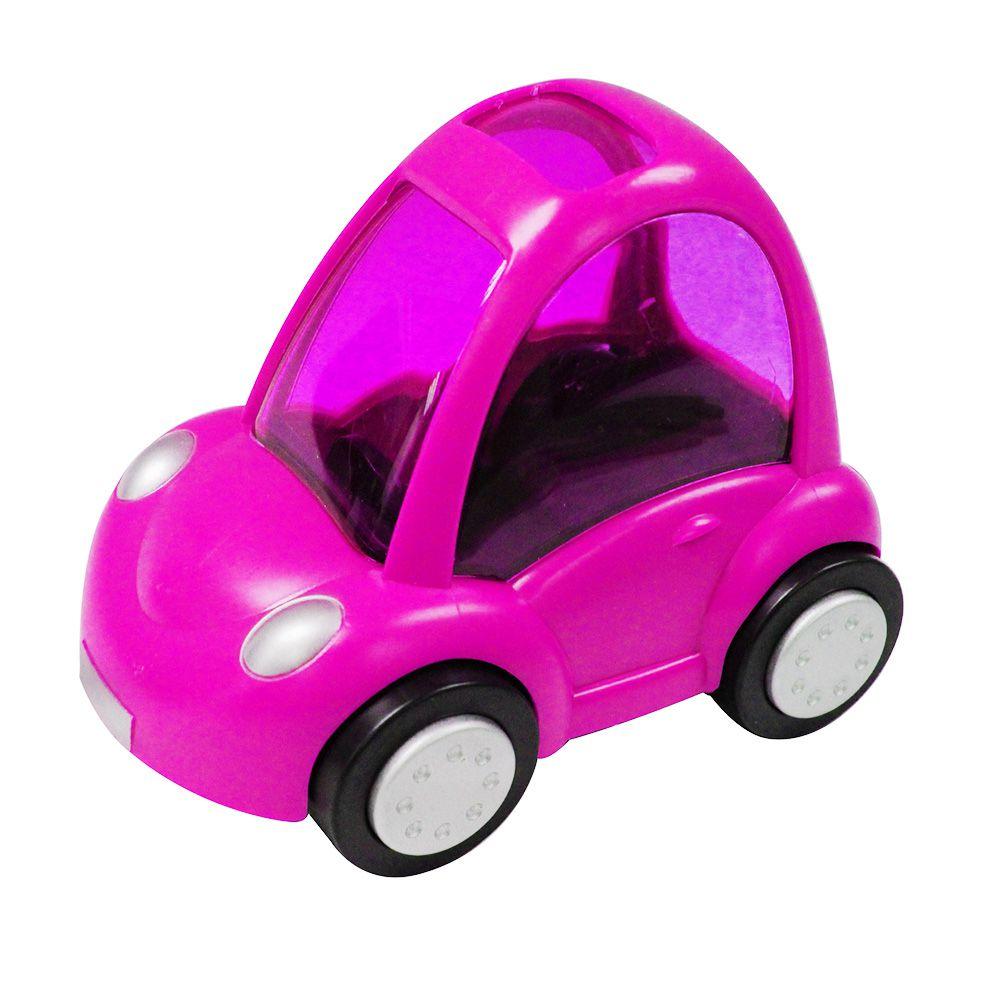 Brinquedo para Hamster Carrinho Rosa