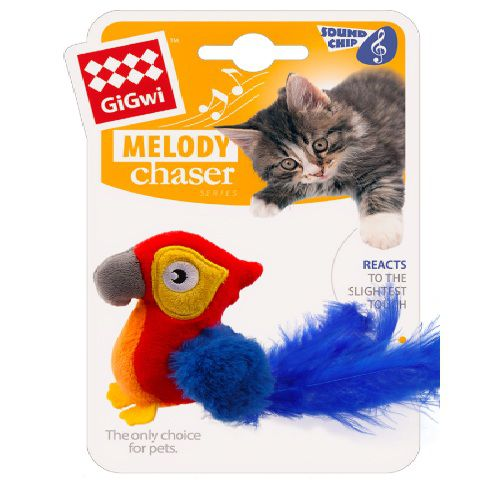 Brinquedo Pelucia Arara Melody Gigwi
