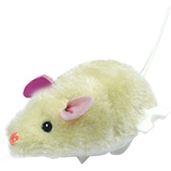 Brinquedo Ratinho Real De Corda