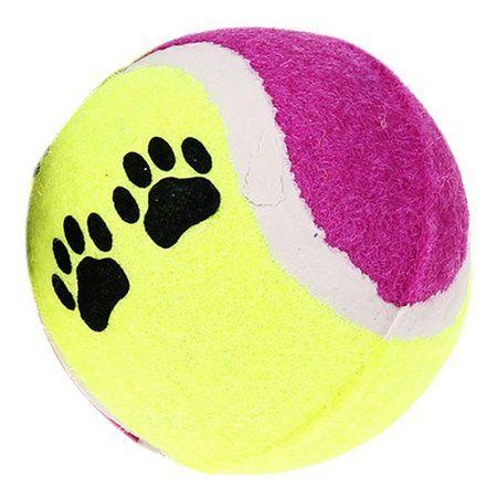 Brinquedo The Dogs Toy Bola de Tênis Com 2 Unidades