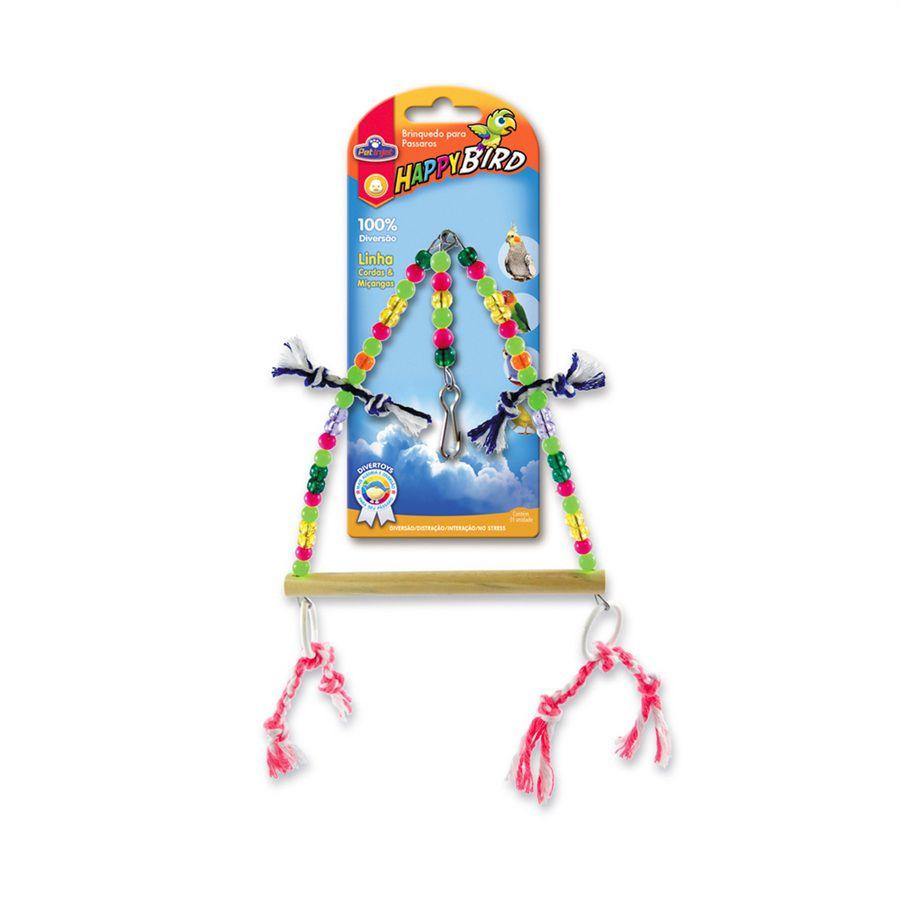 Brinquedo Triangulo Com Argolas para Calopsitas