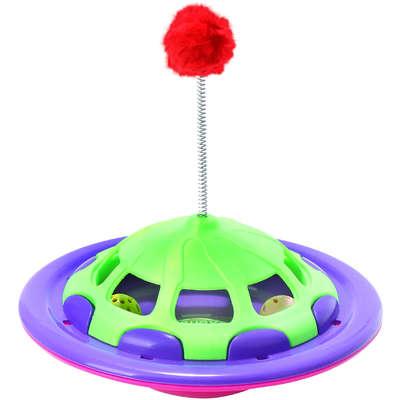 Brinquedo Truqys Pets NavCat Roxo com Verde