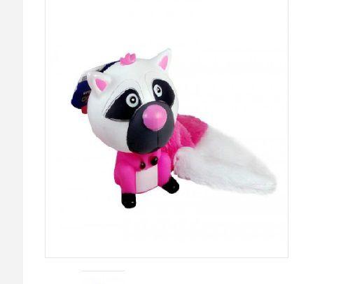 Brinquedo Vinil E Plush Gata Pink The Pets Brasil
