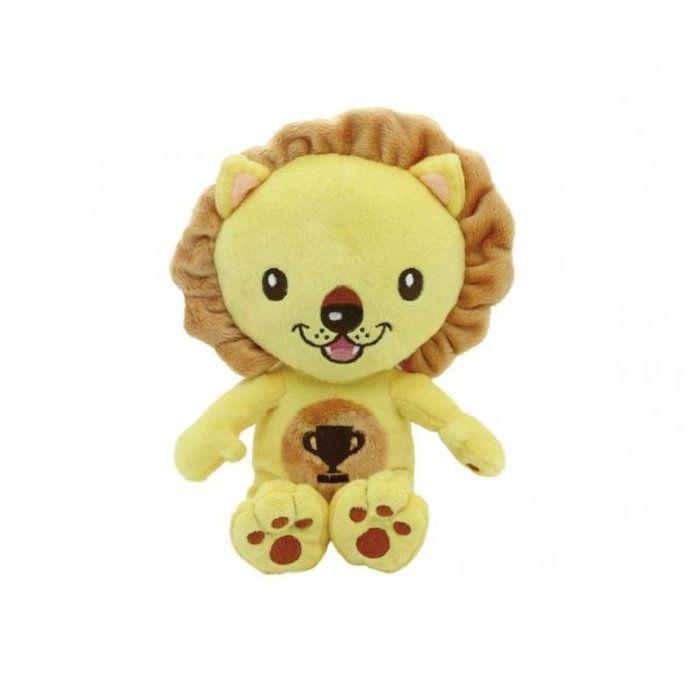 Brinquedo  World Pet em Pelucia Leão 27cm