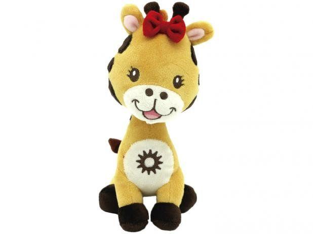 Brinquedo World Pet Pelucia Girafa P 25cm