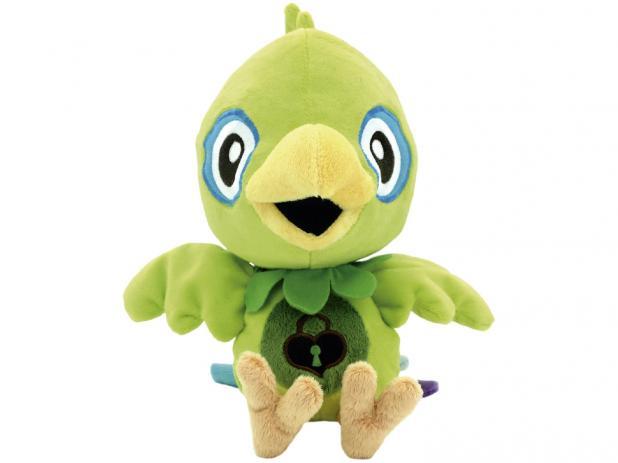 Brinquedo World Pet Pelucia Papagaio 30cm