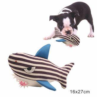 Brinquedo World Pet Tubarão 29cm