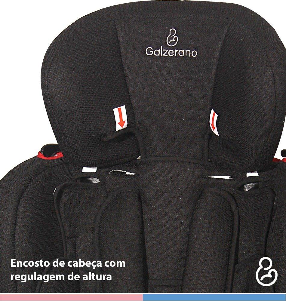 Cadeira para Automóvel Galzerano Dorano II  9 até 36kg - Grafite