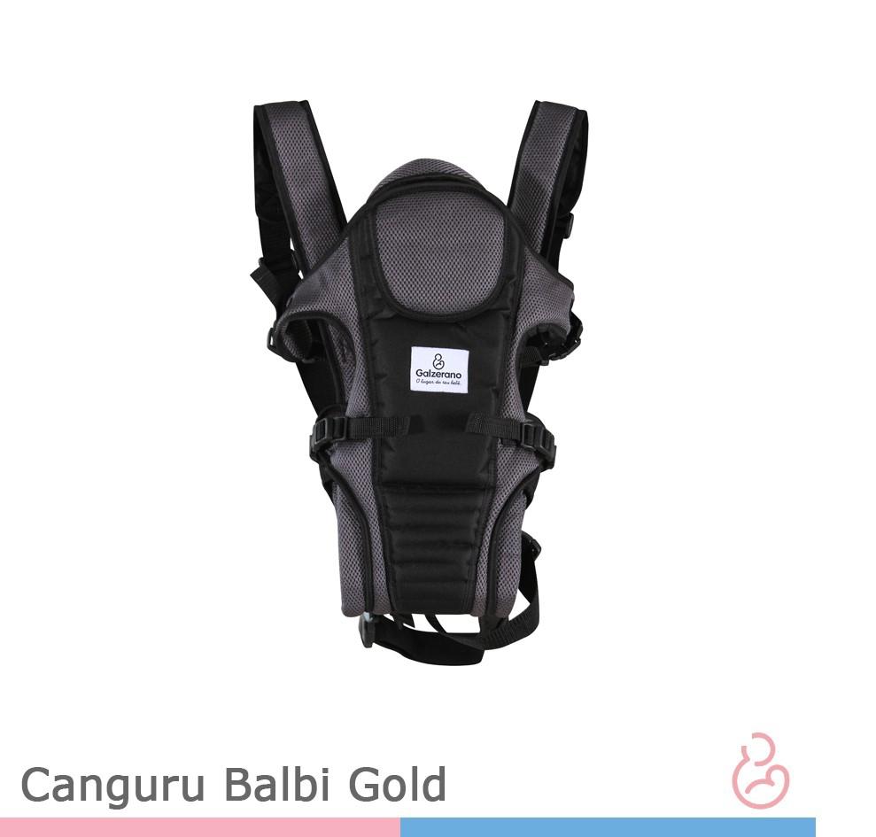 Canguru Balbi Gold Preto Com Cinza - Galzerano